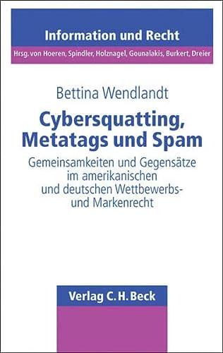 Cybersquatting, Metatags und Spam: Sabine Wendlandt