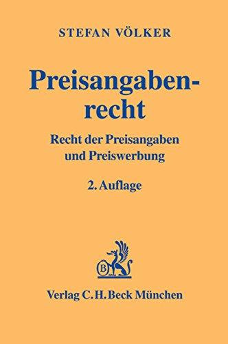 9783406491306: Preisangabenrecht