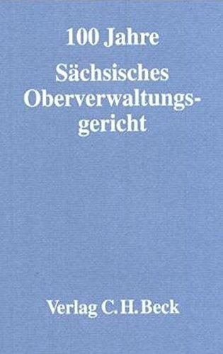 Festschrift 100 Jahre Sächsisches Oberverwaltungsgericht: Siegfried Reich