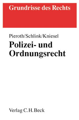 9783406492402: Polizei- und Ordnungsrecht mit Versammlungsrecht (Livre en allemand)