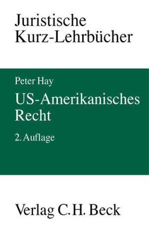 9783406492761: US- Amerikanisches Recht.