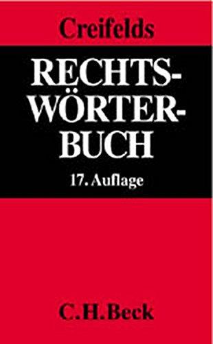 9783406493911: Rechtswörterbuch