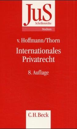 9783406495854: Internationales Privatrecht. [Paperback] by Hoffmann, Bernd von; Firsching, Karl