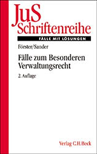 9783406498510: Fälle zum Besonderen Verwaltungsrecht.