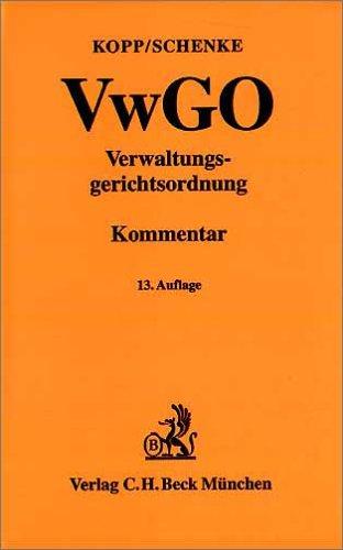 9783406498763: Verwaltungsgerichtsordnung ( VwGO).