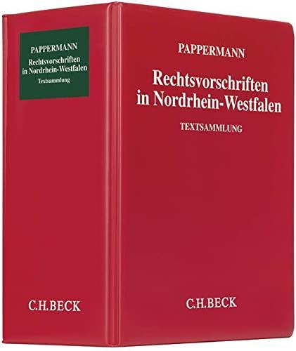 9783406500633: Rechtsvorschriften in Nordrhein-Westfalen (ohne Fortsetzungsnotierung) inkl. 90. Ergänzungslieferung: Sammlung des in Nordrhein-Westfalen geltenden Bundes- und Landesrechts