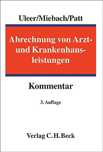 Abrechnung von Arzt- und Krankenhausleistungen: Christoph Uleer