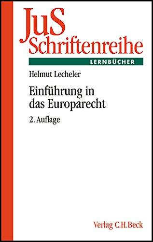 9783406508271: Einf�hrung in das Europarecht.