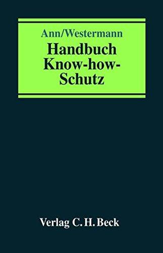 Handbuch Know-How-Schutz: Ingo Westermann