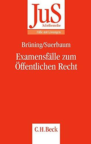 9783406513374: Examensfälle zum Öffentlichen Recht: Fälle mit Lösungen