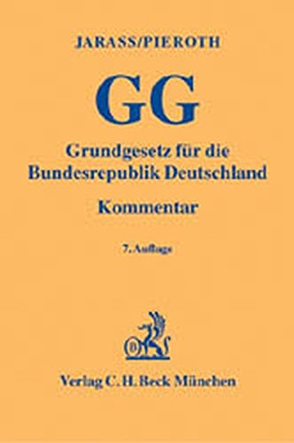 9783406514289: Grundgesetz für die Bundesrepublik Deutschland