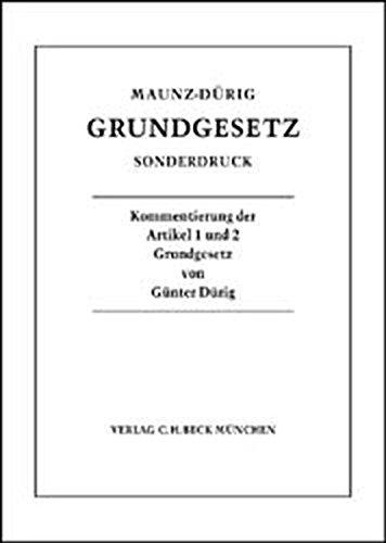 9783406516047: Grundgesetz. Sonderdruck.