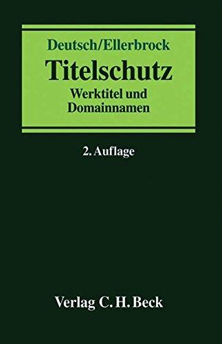 Titelschutz: Volker Deutsch