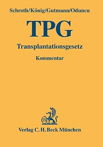 9783406517419: Transplantationsgesetz (TPG)