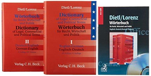 9783406523427: W�rterbuch f�r Recht, Wirtschaft und Politik. Englisch-Deutsch / Deutsch-Englisch