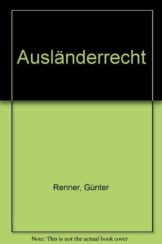 9783406526350: Ausländerrecht.