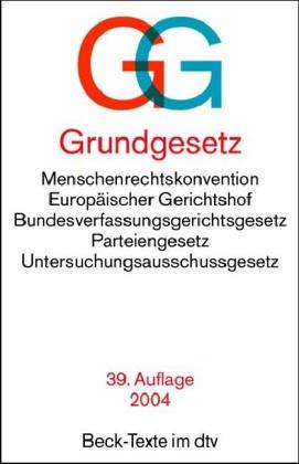 9783406526787: Grundgesetz.