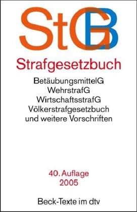 9783406531385: Strafgesetzbuch (StGB)