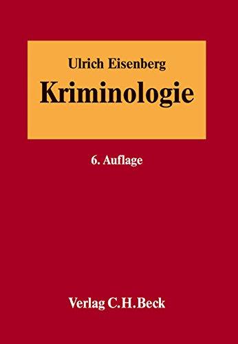 Kriminologie: Ulrich Eisenberg