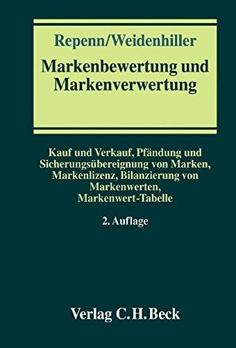 Markenbewertung und Markenverwertung: Wolfgang Repenn