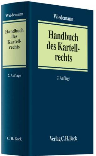 9783406534300: Handbuch des Kartellrechts