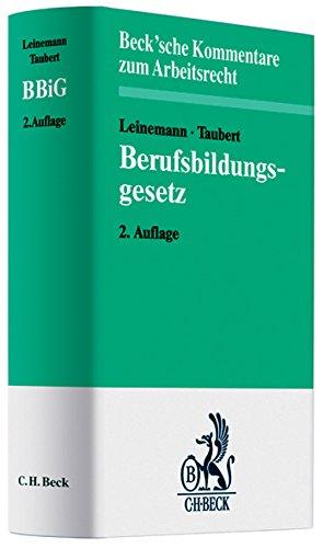 Berufsbildungsgesetz: Wolfgang Leinemann