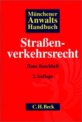 9783406535338: Münchener AnwaltsHandbuch Straáenverkehrsrecht