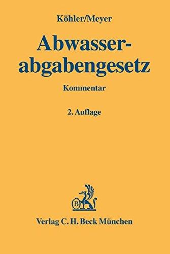Abwasserabgabengesetz (AbwAG): Helmut Köhler