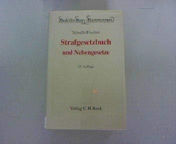 9783406539008: Strafgesetzbuch und Nebengesetze