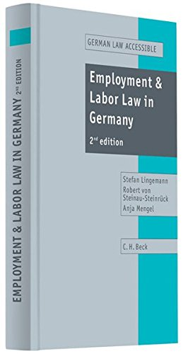 9783406539299: Employment and Labor Law in Germany