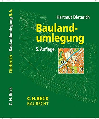 Baulandumlegung: Hartmut Dieterich