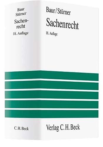 Sachenrecht: J�rgen F. Baur