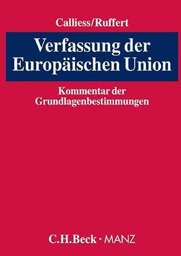 Verfassung der Europäischen Union: Christian Calliess