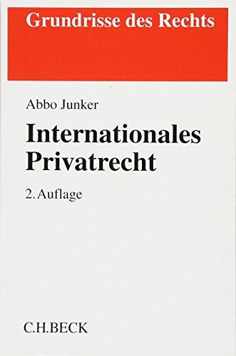 9783406548321: Internationales Privatrecht