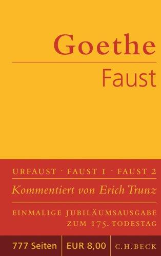 9783406552502: Faust: Der Tragödie erster und zweiter Teil. Urfaust