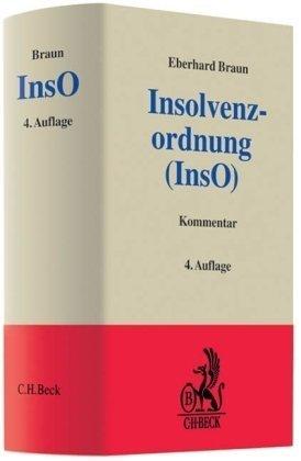 9783406554001: Insolvenzordnung (InsO). Kommentar