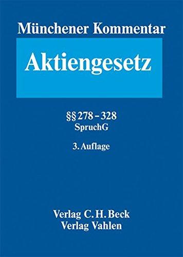 9783406554551: Münchener Kommentar zum Aktiengesetz: §§ 278 - 328: Bd. 5