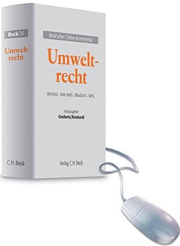 Beck'scher Online-Kommentar Umweltrecht: Ludger Giesberts