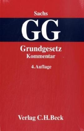 9783406558092: Grundgesetz: Kommentar
