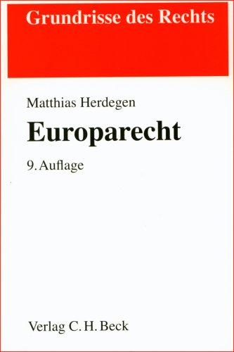 9783406560712: Europarecht