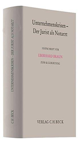 Unternehmenskrisen - Der Jurist als Notarzt: Thomas Kind