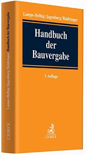 Handbuch der Bauvergabe: Gudrun Lampe-Helbig