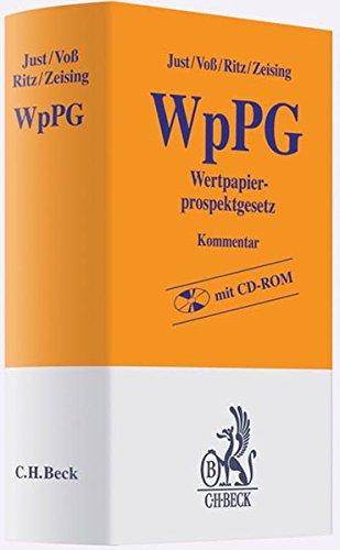 Wertpapierprospektgesetz (WpPG): Clemens Just