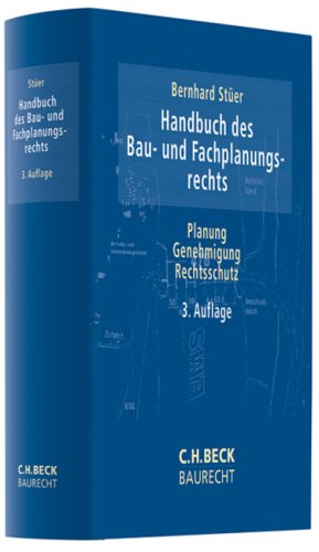 9783406566615: Handbuch des Bau- und Fachplanungsrechts: Planung - Genehmigung - Rechtsschutz