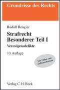 9783406570469: Rengier, Rudolf, Bd.1 : Vermögensdelikte