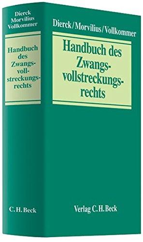 9783406570483: Handbuch des Zwangsvollstreckungsrechts