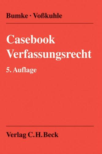 9783406571626: Casebook Verfassungsrecht