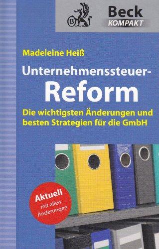 9783406571725: GmbH-Reform / Unternehmenssteuer