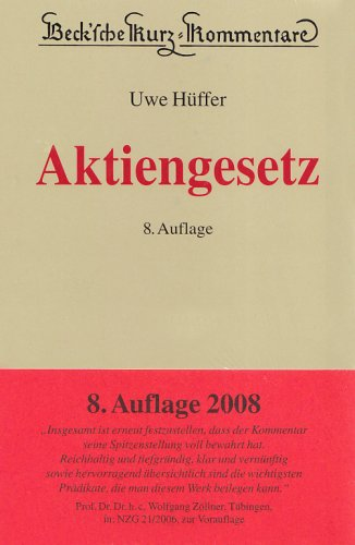9783406573941: Aktiengesetz