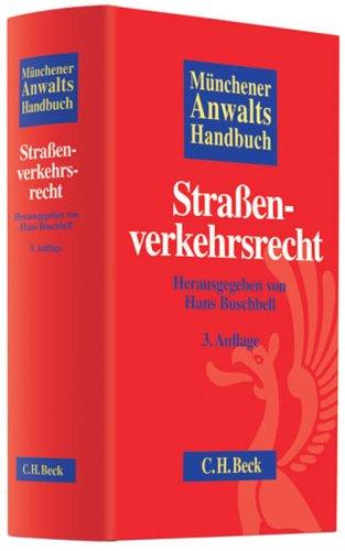 9783406574719: Münchener Anwaltshandbuch Straßenverkehrsrecht